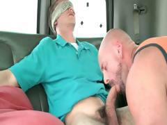 Straight guy gets gay oral sex
