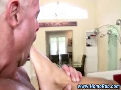 Watch straight guy cum after jerking off