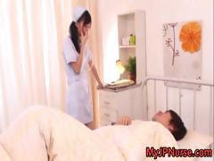 Aino Kishi Japanese nurse shows off her part5
