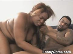 Dirty Ebony Ghetto Slut Face Fucked Until She Gags