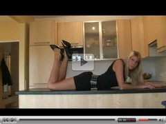 Young German Blonde Wife In High Heels Fucked