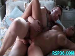 Teens fold in two and fucked
