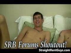 Hot hetero hunks without money go gay part1