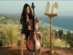 The sexiest cellist glamour in the world