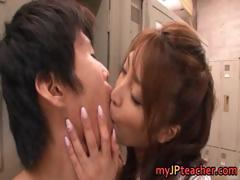 Kokomi Sakura Asian beauty gets part1
