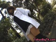 Airi Hot Asian model enjoys showing off part1