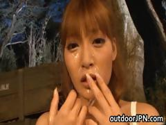 Super hot Japanese babes doing weird sex part4