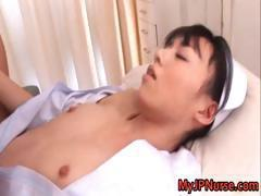 Aino Kishi Japanese nurse shows off her part1