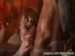 Super sexy redhead babe Marie McCray banged on bed