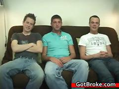 Blake Jeremy and Austin gay threesome gay part4