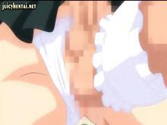 Licentious she-male hentai minxes with froward coo-chi snorchers and dicks do each other