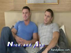 Gay clips of Ash and Nick fucking part3