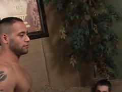 Gay4Pay married  porn star guy turns muscular and hung Latino Straight guy, gay4pay.