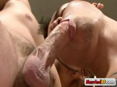 Married man gets his anus rimmed part4
