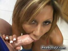 Horny mom plugs young cock in her holes part5