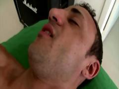 Gay sucks straight cock