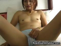 Small tits asian babe fucks a raging part5
