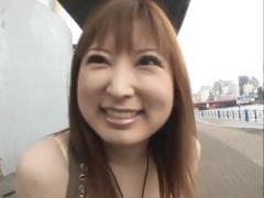 Runna Sakai Asian chick shows off cute part4