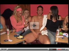 Girls sucking cocks at hen party! - Part 10
