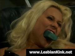 Blonde harlots do some painful spanking as a new way of getting to climax