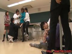 Ai Haneda sexy Japanese teacher has sex part1