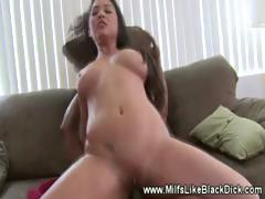 White whore fucked hard by black cock