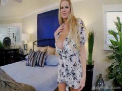 Busty Wife Rides Her Man After A Long Day