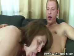Mature sucking and riding