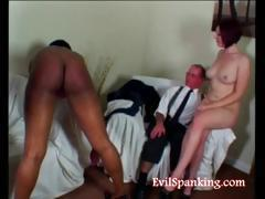 Old spanking young
