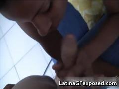 Big boobed spicy latina pussy plowed 1 part1