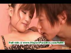 Rio fujisak young asian slut gets her hot tits licked