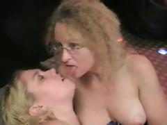 Barby and another blonde suck black cock for cum and play around