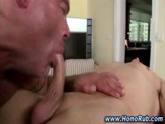 Gay straight guy blowjob and ass fuck