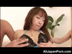 Hot Asian in Threesome!