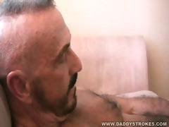 Hot Bear Vince Gets Himself Off