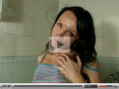 Upclose Pussy Spreading and Masturbation In The Shower