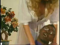 Classic star Shelene gets licked and fucked by the big black cock of Sean Michaels