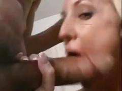 Calli Cox is good enough to play with two big black cocks at once