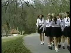 A boarding school for girls is a wonderful place for nasty orgies