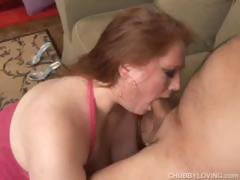 Curvy Girl Julie Blowjob