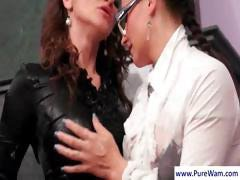 Two lesbians getting themselves all wet and then touching and rubbing
