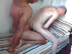 Two gay boys are enjoying some and ass fucking in their room