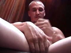 super str8 rough and butch tavern pick up talks dirty about how he likes to fuck pussy as he jacks.