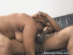 Chubby Black Ghetto Slut Fucked Roughly From Behind