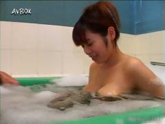 Busty asian babe showing her cute body part5