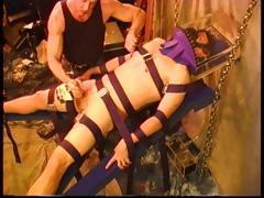 Intense CBT sounding electro bondage and more.