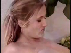Sweedish babes massage each other with oil and use anal toys